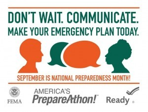 Emergency preparedness can save your life and your loved ones! Are you prepared?