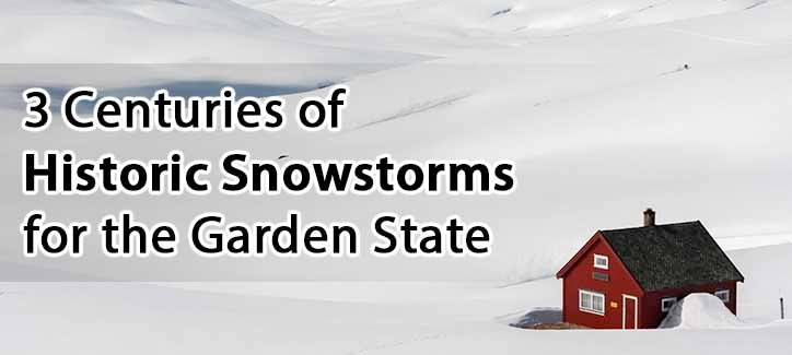3 Centuries of Historical Snowstorms for the Garden State stone harbor capy may new jersey
